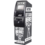 Get Cash Here ATM Wrap - Grey Fist - Generic