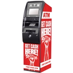 Get Cash Here ATM Wrap - Red Fist - Generic