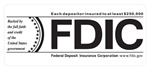 "3.5"" X 1.5"" FDIC White Background-GetBranded"