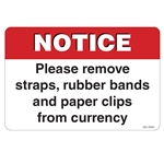 "GetBranded.com-3"" X 2"" Notice Remove Items from Currency"