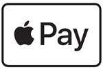 "GetBranded.com-3"" x 2"" Single Network Decal, Apple Pay"