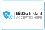 "GetBranded.com-3"" x 2"" Single Network Decal, BitGo Instant"