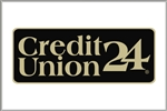 "GetBranded.com-3"" x 2"" Single Network Decal, Credit Union 24"