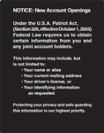 GetBranded.com-Patriot Act Decal- 11x14 inches