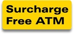 "GetBranded.com-3"" X 1"" Surcharge Free ATM Decal"