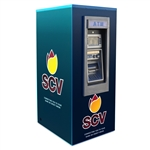 TPI Genmega GT3000 Walk-Up ATM Kiosk Enclosure Wrap