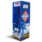 TPI Outdoor Flat Front ATM Enclosure Wrap