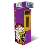 TPI  Outdoor Universal ATM Security Surround – Removable Topper Wrap