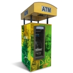 TPI Universal Drive-up ATM Kiosk Enclosure Wrap