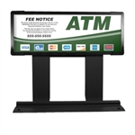 GetBranded.com-Custom ColorBrilliance Hantle / Tranax Mini Bright ATM Graphic Topper Insert (15 x 5)