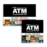 GivePay Gift Card ATM Graphic Topper Insert