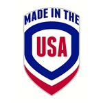 "Made in the USA Decal - 1"" x 1.6"""