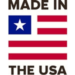 "Made in the USA Decal - 3.125"" x 4"""