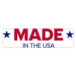 "Made in the USA Decal - 3.75"" x 1"""