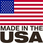 "Made in the USA Decal - 3"" x 3"""