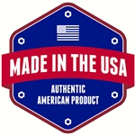 "Made in the USA Decal - 4"" x 4"""