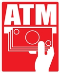 11 x 13.5 Glossy Universal ATM Decal