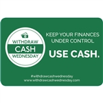 3x2 Keep your finances under control, use cash, Green