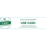 Withdraw Cash Wednesday 4x1 Easy and Convenient, Use cash, White