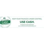 Withdraw Cash Wednesday 4x1 Keep Your Finances Under Control, use cash, White