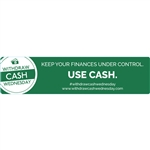 Withdraw Cash Wednesday 4x1 Keep Your Finances Under Control, use cash, Green