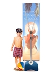 Zephyr Banner Stand - Single Sided