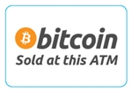 Bitcoin Sold at This ATM Sticker