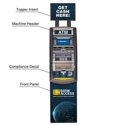 Front ATM Graphics Package