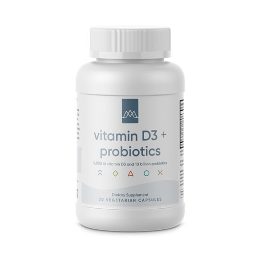 Maximized Living Vitamin D3 with Probiotics