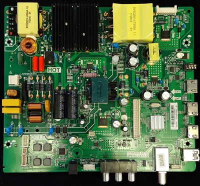 02-SW353A-C008005 Toshiba Main Board / Power Supply, TP.MS3553.PC785, 3MS553LCANA.02, B17104476, 55L510U18
