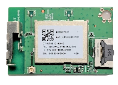 07-RT8812-MA4G TCL Wifi Board, 07-RT8812-MA4G, WC1KR2601, 50S423, 65S425
