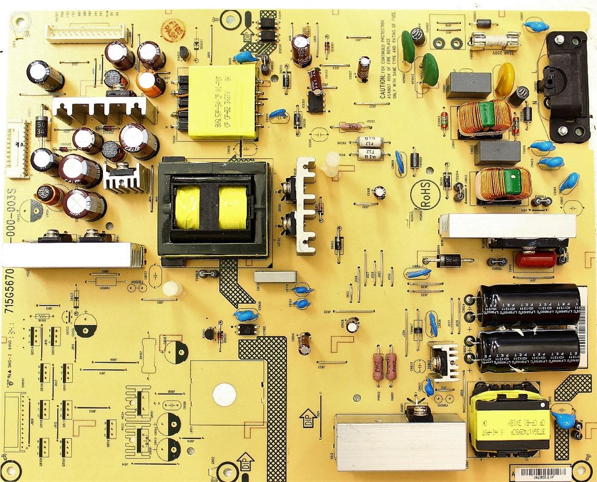 ADTVD2418XC2 Vizio Power Supply, 715G5670-P03-000-003S, E500I-A1