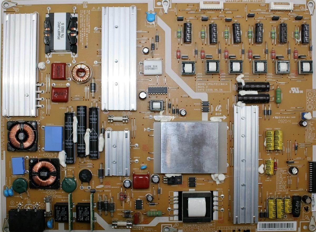 BN44-00271A Samsung TV Module, Power Supply, PSLF211B01A, PD5512F1,  N55B6000VFXZA, UN55B7000WFXZA, UN55B7100WFXZA, UN55B7000WFXZA