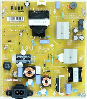EAY64529501 LG Power Supply, EAX67209001(1.5), 43UJ6300, 43UK6300PUE, 43LJ5500-UA, 43UK6090PUA, 43UM6910PUA, 43UM6950DUB, 43UN6950ZUA