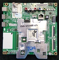 EBU64688102 LG Main Board, EAX67872805(1.1), 43UK6300PUE