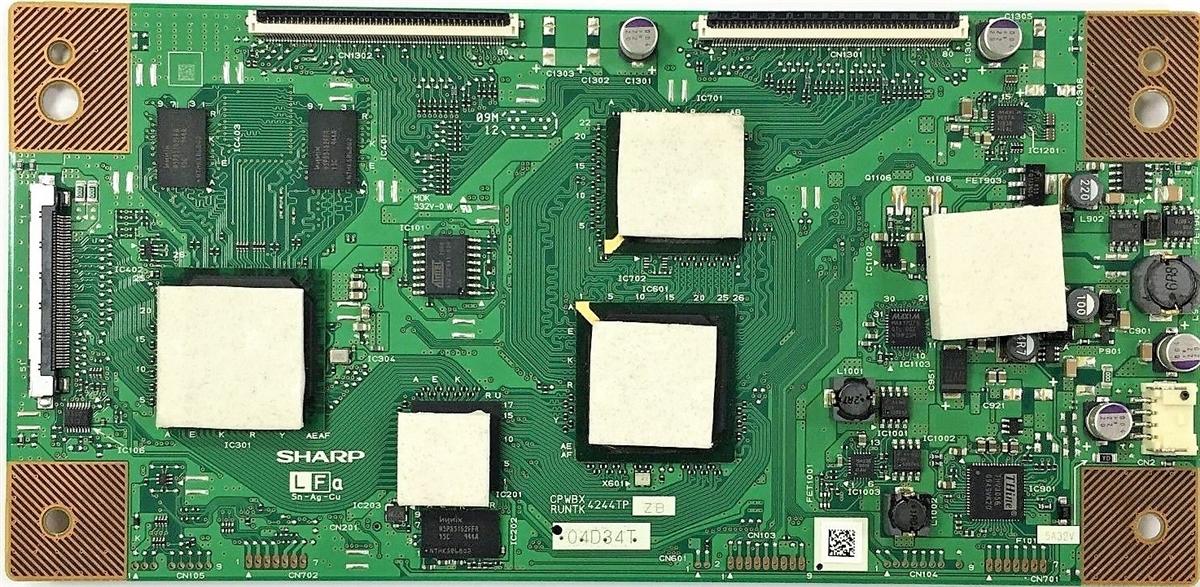 RUNTK4244TPZB Sony TV Module, T-Con board, CPWBX4244TPZB, KDL-60EX701,  KDL-40EX703, KDL-60EX700