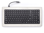 iKey Desktop Stainless Steel Keyboard (USB) (Stainless Steel) | DT-1000-USB