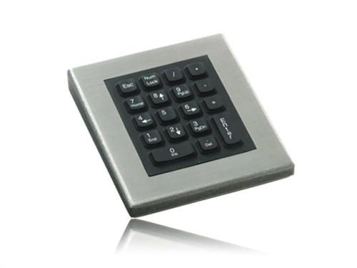 iKey Industrial Stainless Steel Numeric Keypad (PS2) (Stainless Steel) | DT-18-PS2