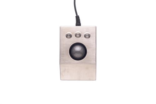 iKey Stainless Steel Optical Trackball (USB) (Stainless Steel) | DT-TB-USB
