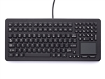 iKey Desktop Ultimate Keyboard Touchpad (USB) (Black) | DU-5K-TP2-USB