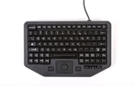 iKey Full Travel Keyboard w/Integrated Force Sensing Resistor & Red Backlit Keys (USB) (Black) | IK-TR-911-FSR-RED