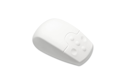 Used for Infection Control & Equipment Protection, the SterileMOUSE-LASER Antibacterial Mouse SF08-14 can be cleaned by washing with soap and water, sanitized or disinfected.
