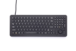 iKey SlimKey Keyboard Force Sensing Resistor (USB) (Black) | SK-102-FSR-USB