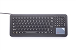 iKey SlimKey Keyboard Touchpad (USB) (Black) | SK-102-TP-USB
