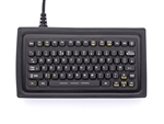 iKey Compact Mobile Keyboard (PS2) (Black) | SL-75-PS2