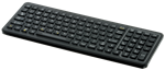 iKey SlimKey Backlit Industrial Keyboard QuickLock (USB) (Black) | SLK-101C-USB