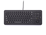 iKey SlimKey Backlit Mobile Keyboard Force Sensing Resistor (PS2) (Black) | SLK-102-M-FSR-PS2