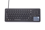 iKey SlimKey Backlit Keyboard (USB) (Black) | SLK-102-TP-USB