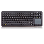 iKey SlimKey Backlit Keyboard Touchpad  (USB) (Black) | SLK-97-TP-M-USB-BLK