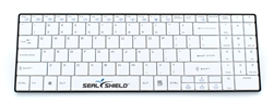 Used for Infection Control & Equipment Protection, the Clean-Wipe Medical Wireless Bluetooth Keyboard SSKSV099BT can be cleaned by washing with soap and water, sanitized or disinfected.